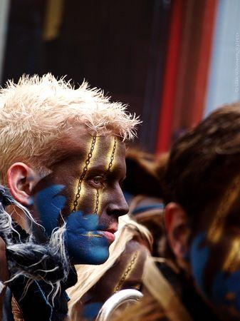 Luzerner Fasnacht 2011 - mit Makeup unter den Masken