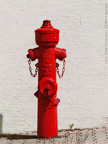 Feuerhydrant (edited hdr-style)