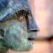 Skulpturdetail (J. Goertz, Schorndorf) photoshopiert