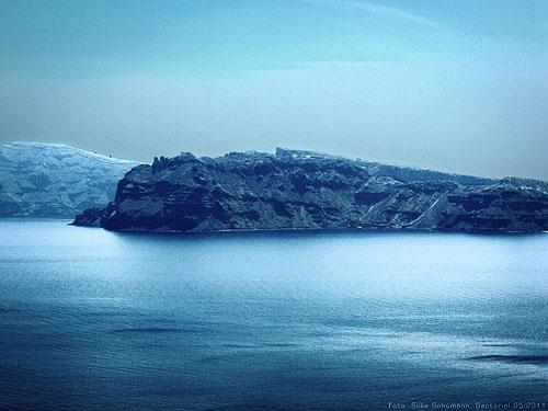 Santorini Küste (HDR velvia)