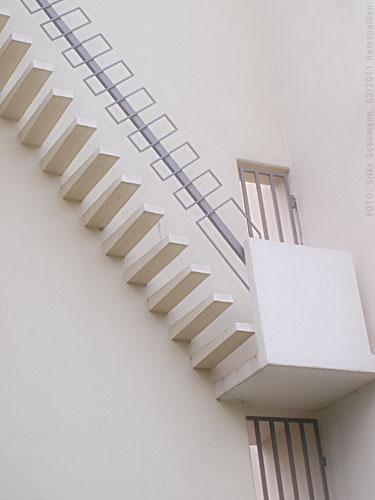 Stufen zum Glockenturm
