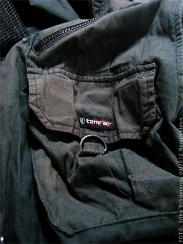 Tamrac Fotografenweste sonnengebleicht