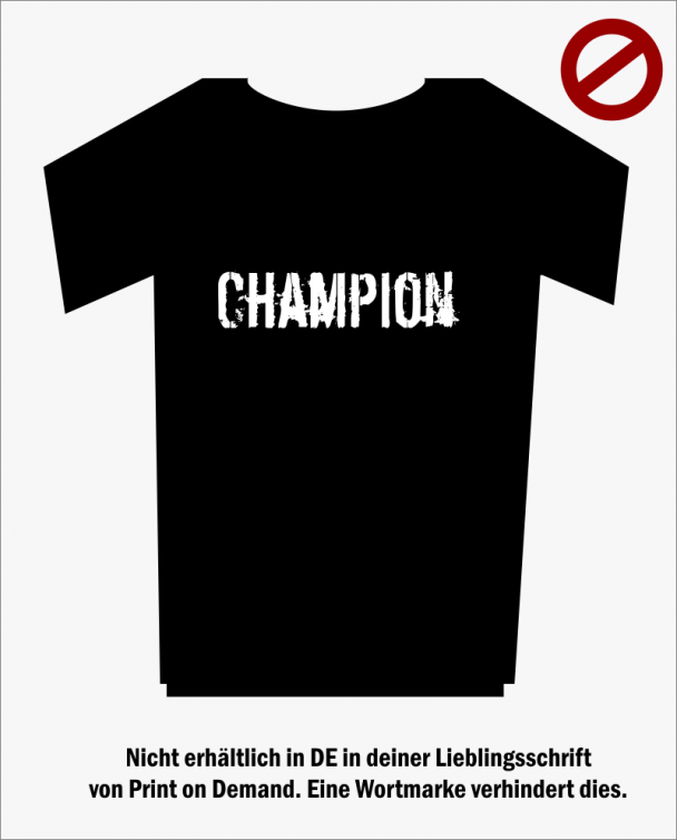 Chanmpion-Shirt
