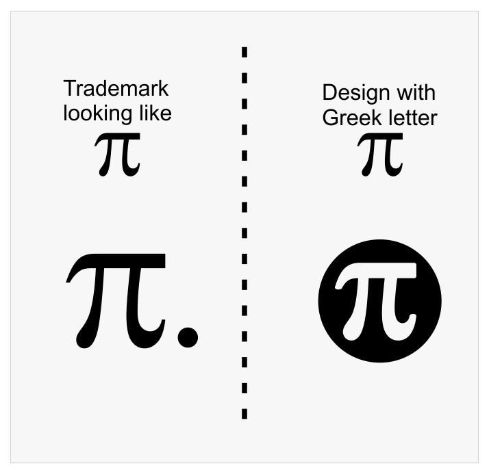 Trademark vs  Design